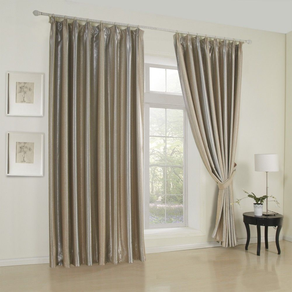 Geometric Neoclassical Brown Blackout Curtains #curtains
