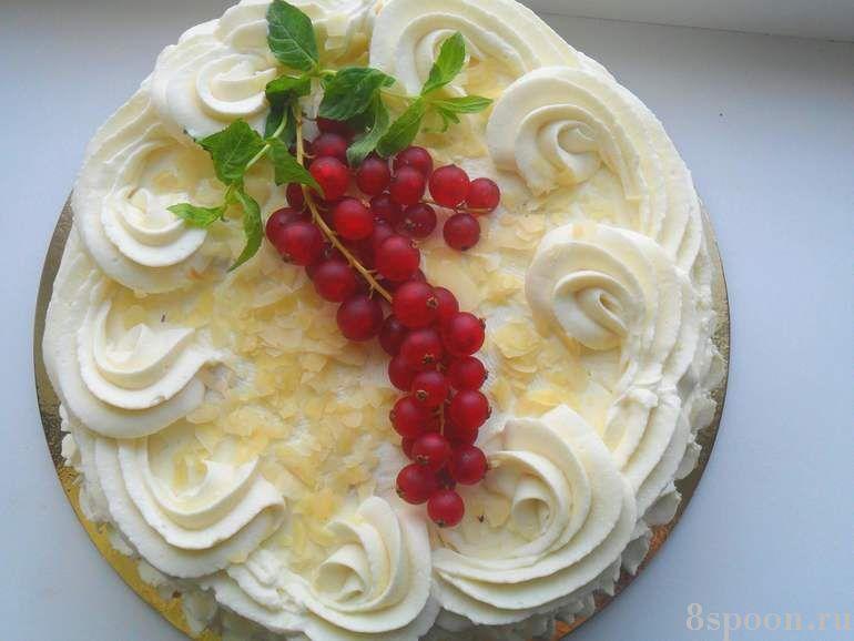 оформление тортов с фото в домашних условиях