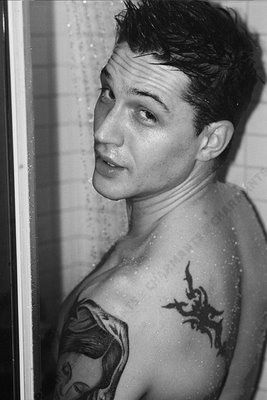 Character Inspiration: Tom Hardy. His ability to look friendly one minute and like a terrible person the next.