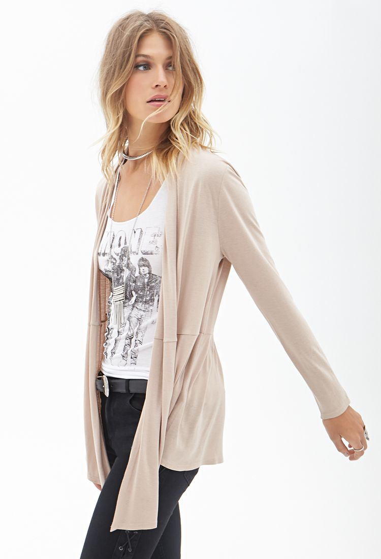 Heathered Knit Cardigan | FOREVER21 - 2000123128