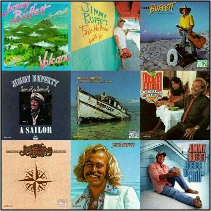 Jimmy Buffett Album Collage | Jimmy Buffett | Pinterest | Jimmy ...