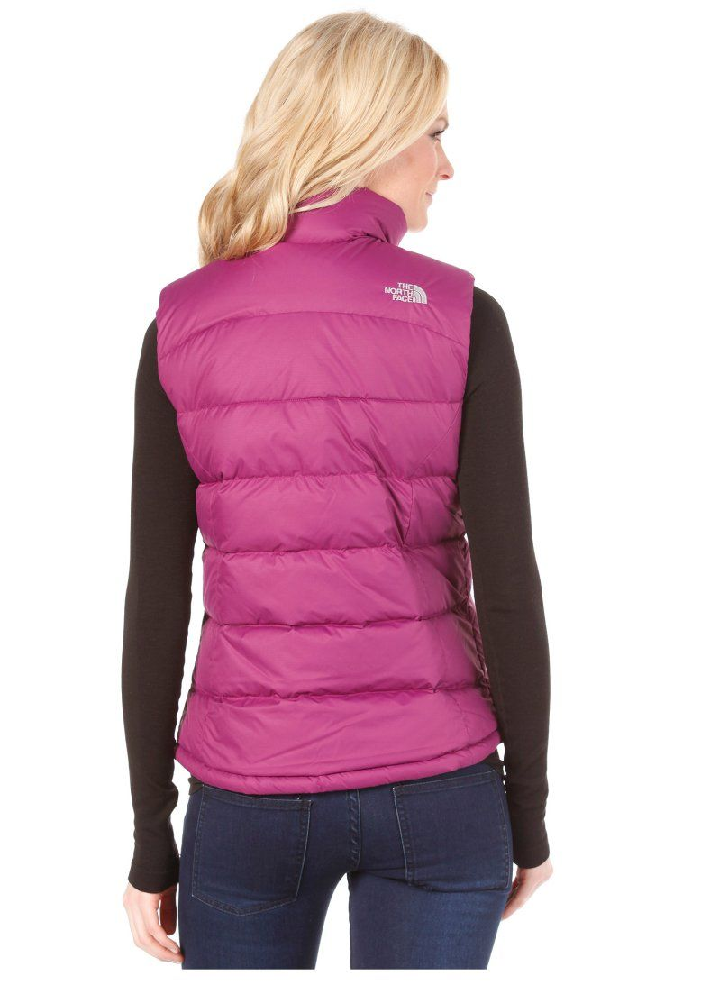 pink the north face nuptse down vest body warmer down vest rh pinterest com