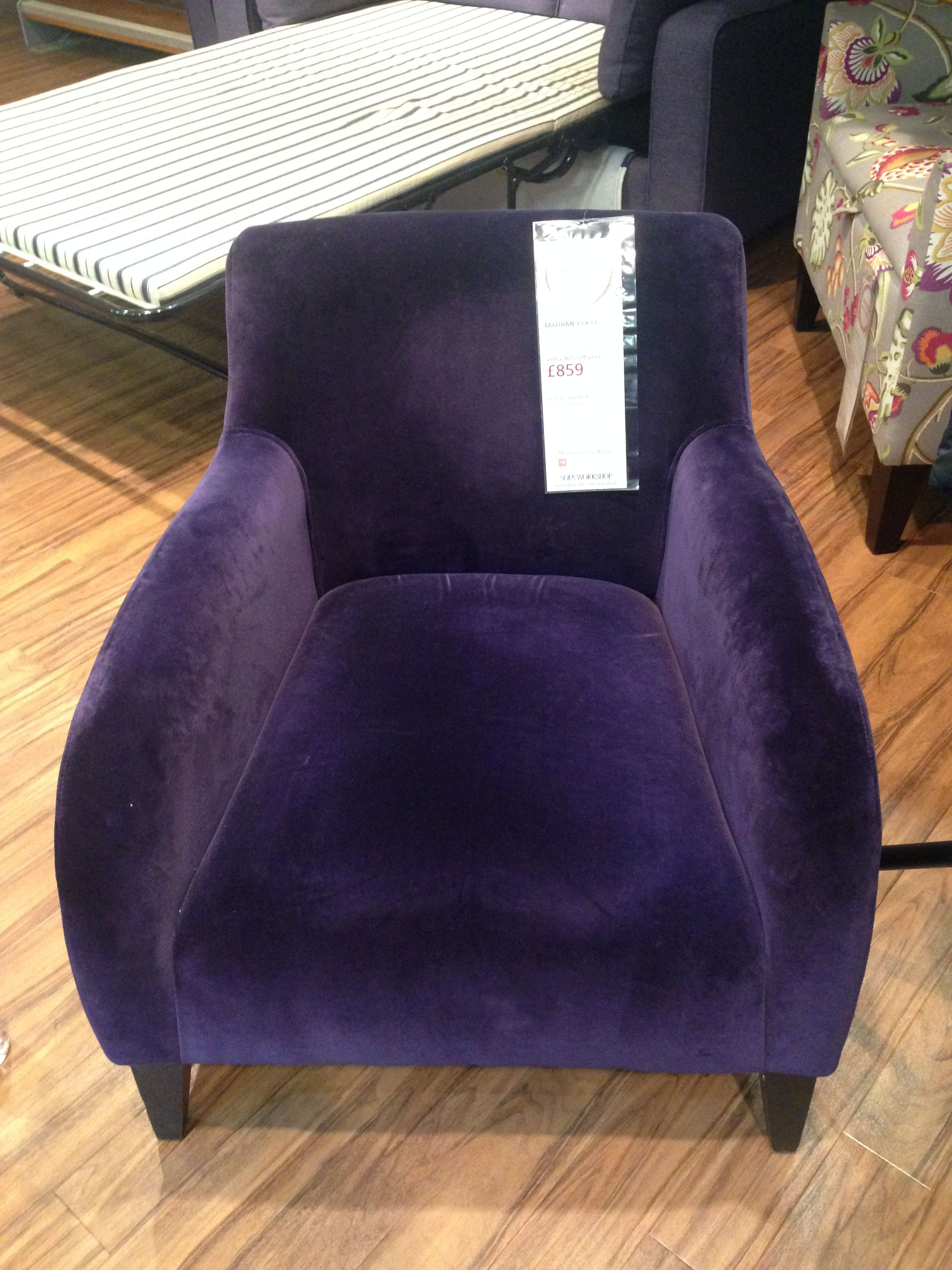 Madame Coco Chair in Seduction