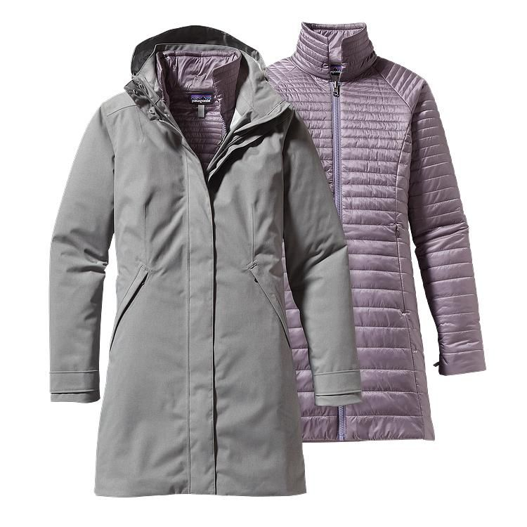 1931286f2ac Patagonia Women\'s Vosque 3-in-1 Parka - Feather Grey FEA | Clothing ...
