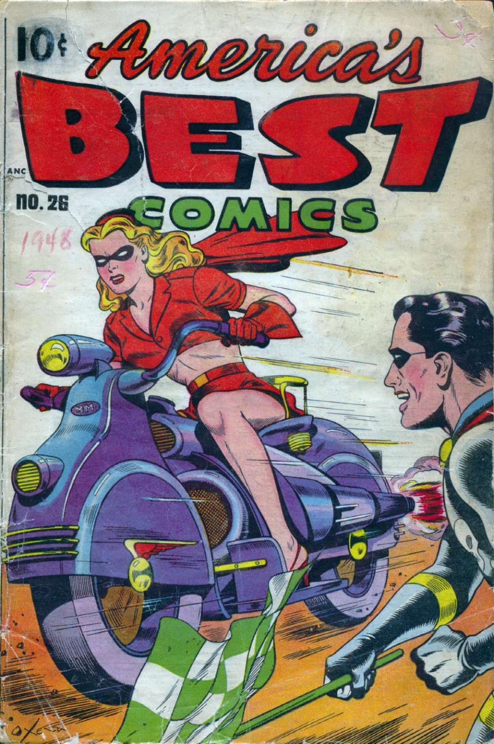 Comic Book Cover For America's Best Comics #26