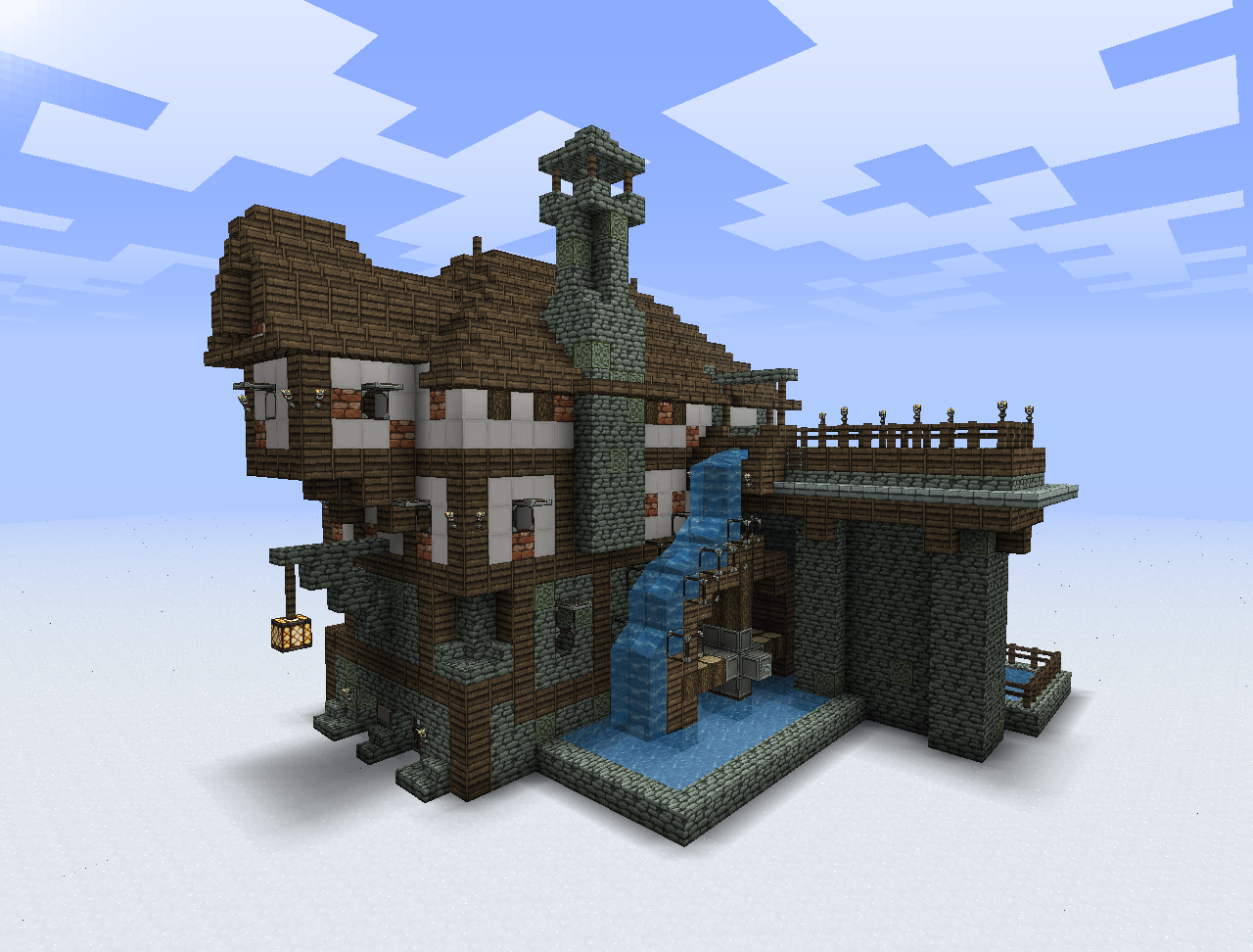 Minecraft and terraria on pinterest minecraft skins for Minecraft home designs