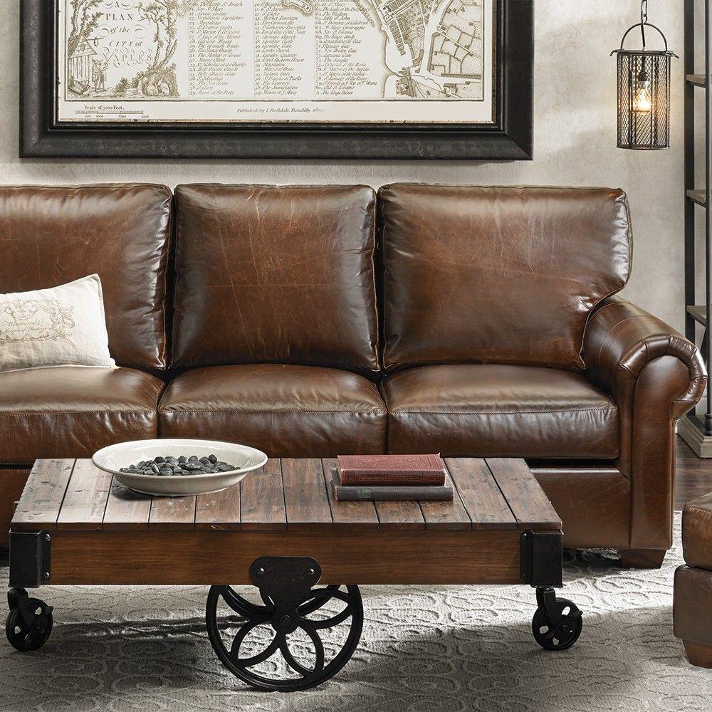 Telluride Brompton Leather Sofa