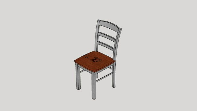 brianne ladderback side chair 3d warehouse 3d dining chairs
