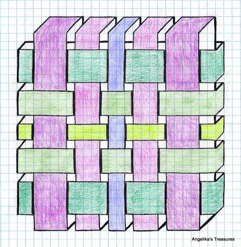 Graph Paper Art Made By Myself