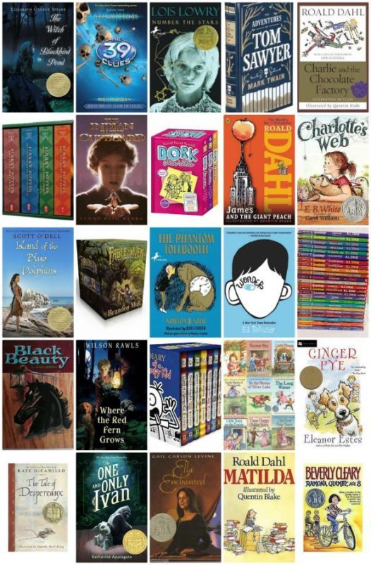 Top 50 Children S Chapter Books Book Ideas Books Chapter Books