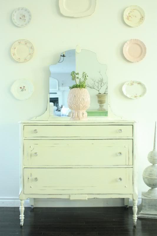 Light Green Painted Dresser Minty Green Pinterest Pastell