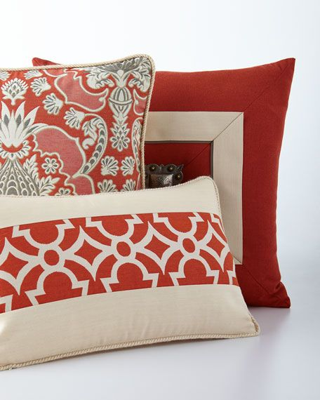 Photo of Elaine Smith Orange Outdoor Pillows