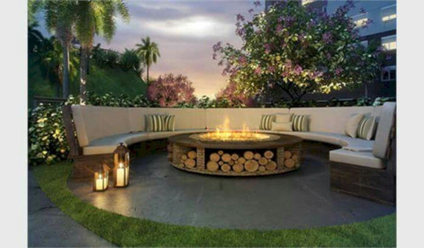 46 Stunning Outdoor Fire Pits Decor Ideas You Will Love #firepitideas
