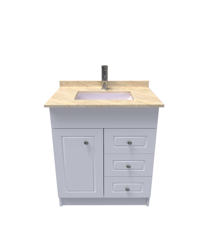 Muebles Vanitorios Con Cubierta De Marmol De 71 X 48 X 82 Cod Vcm