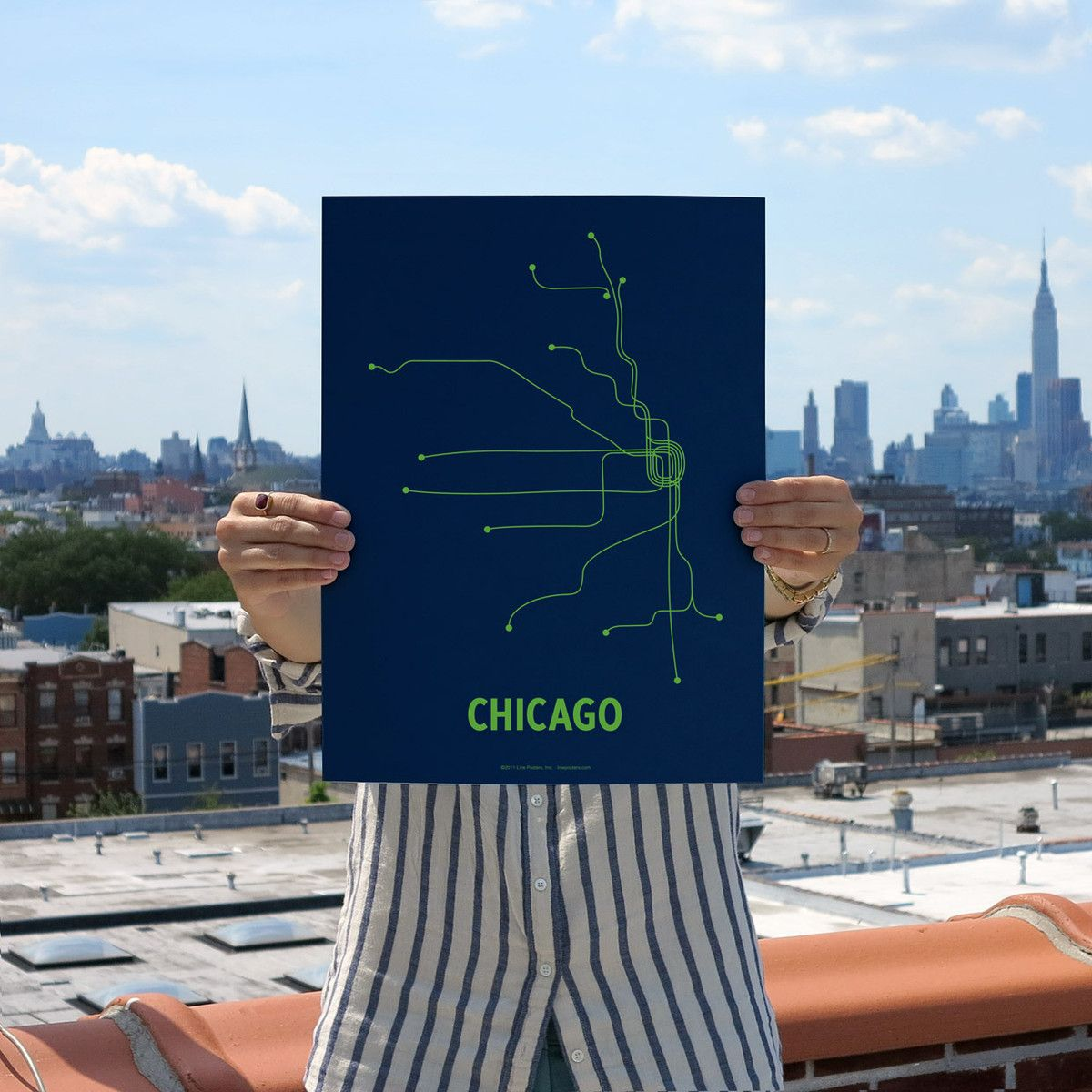 Fab.com | Chicago Screenprint Navy