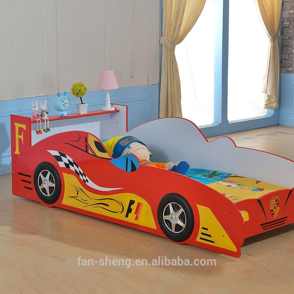 fansheng factory price childrenkids f1 race car bed for sales