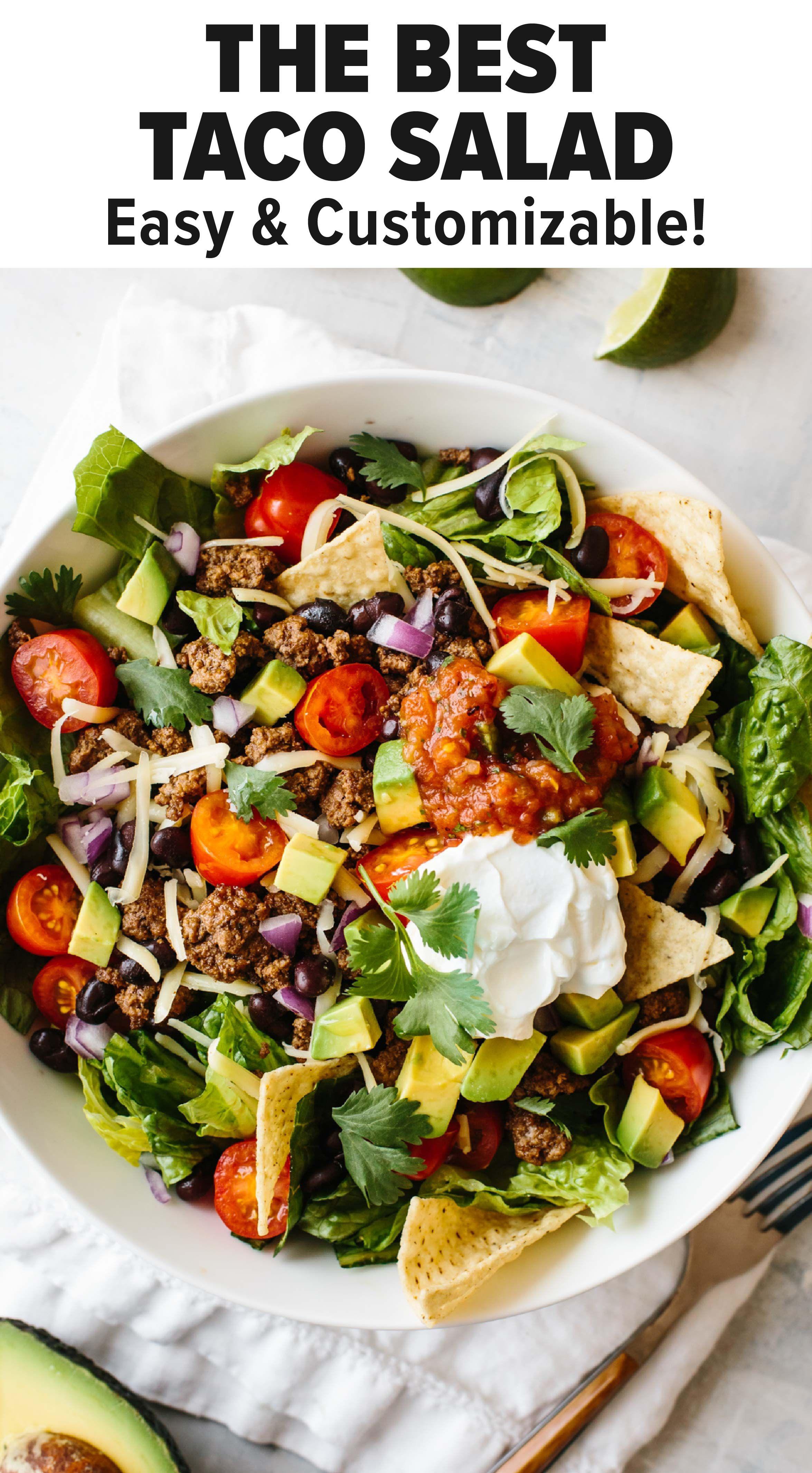 Quick Easy Taco Salad Recipe