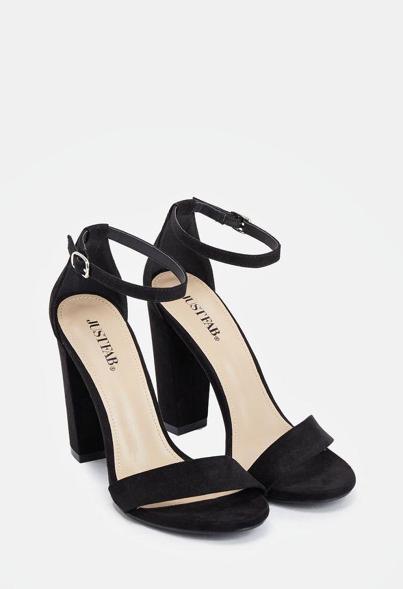 JustFab Makemba Heeled Sandal Womens