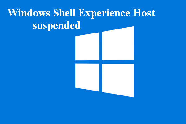 Fix Windows Shell Experience Host Suspended On Windows 10 Windows Registry Windows Settings App