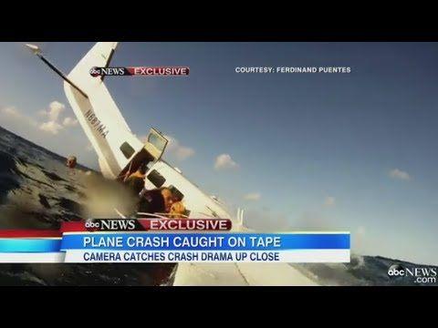 Passagiert filmt vliegtuigcrash.