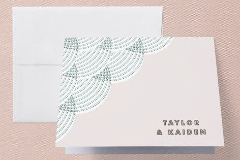 fanfare Thank You Cards by Paper Dahlia at minted.com