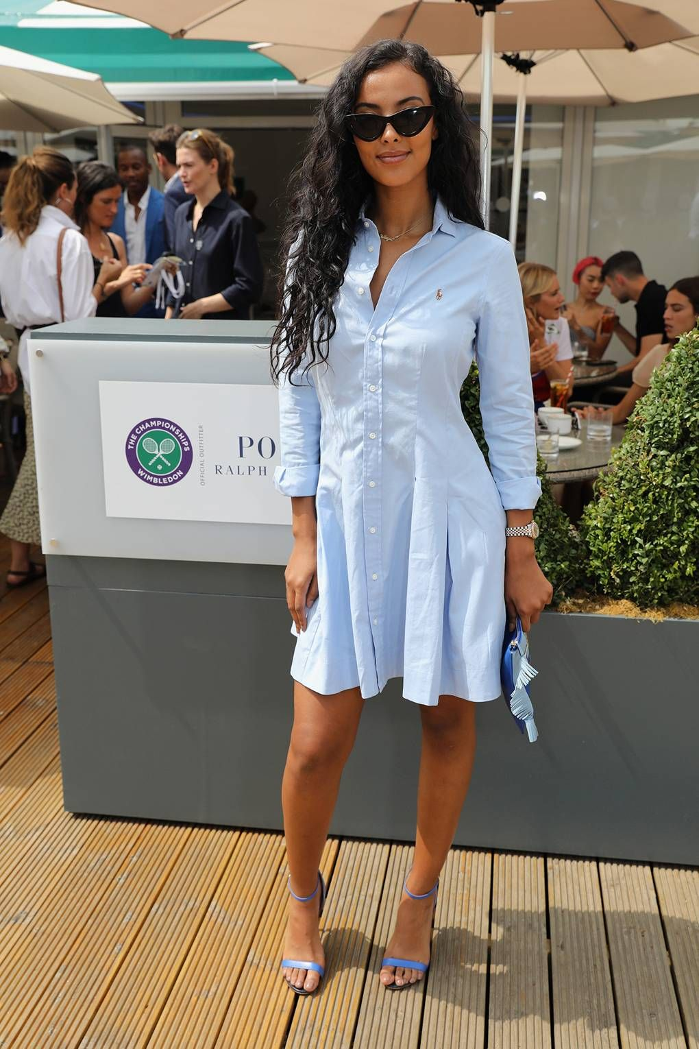 Polo Ralph Lauren And British Vogue Wimbledon Day