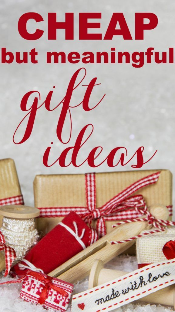 Cheap but Meaningful Christmas Gift Ideas | Cheap christmas gifts, Meaningful christmas gifts ...