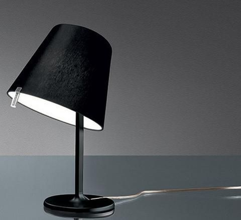 Artemide melampo table lamp 0315028a bronze standard