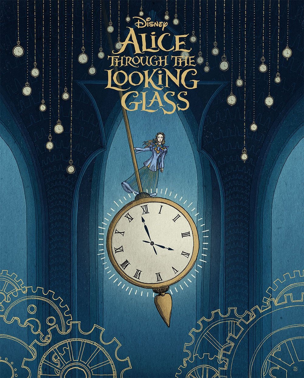 Alice Through The Looking Glass Gallery Show At Hero Complex