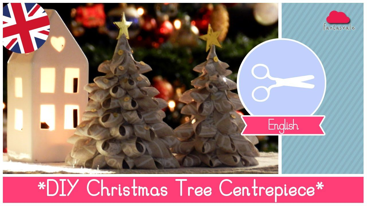 Video Tutorial For Making Fabric Christmas Trees This Techinque Would Also Work Well Using Ri Fabric Christmas Trees Christmas Centerpieces Diy Christmas Tree