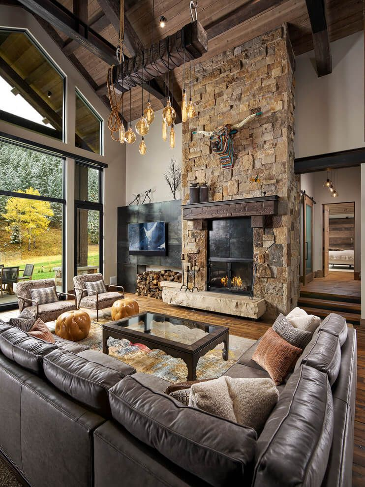 25 Rustic Living Room Ideas To Fashion Your Revamp Around