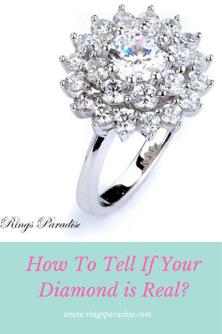 How To Tell If Your Diamond Is Real Delicate Gold Jewelry Cz Rings Engagement Vintage Jewelry
