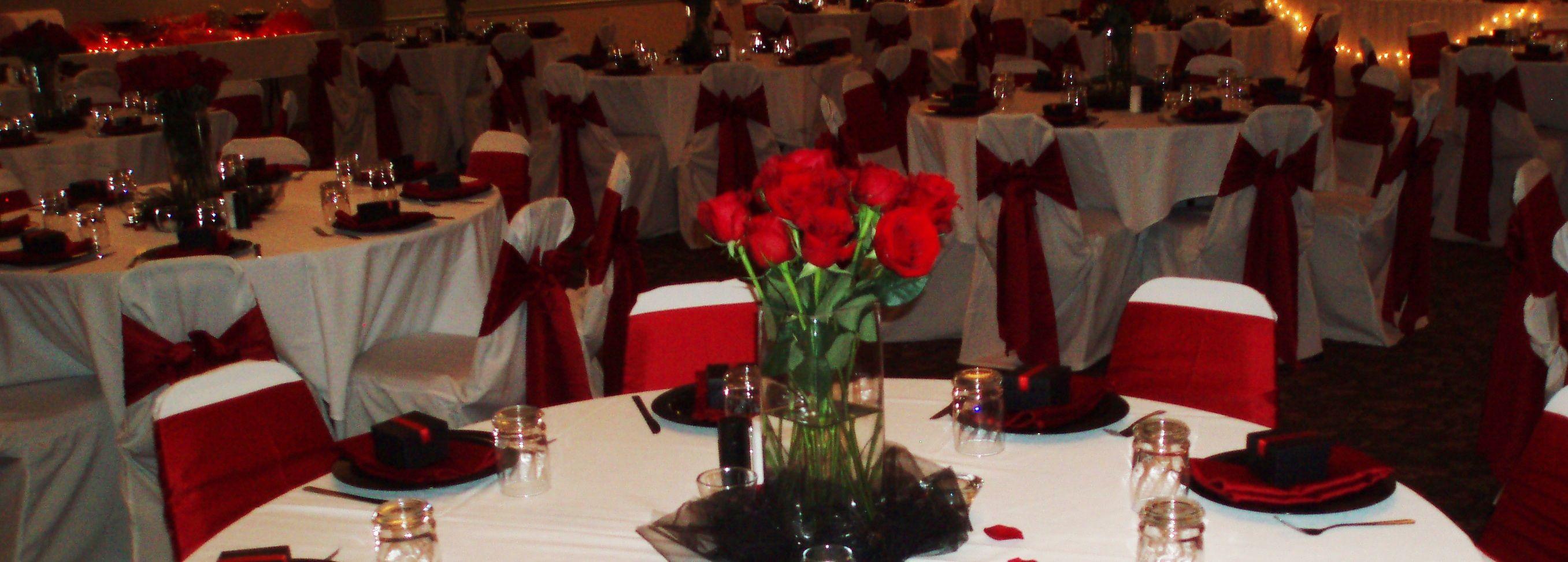 Red Rose Wedding | Weddings at The Venetian Club | Pinterest ...
