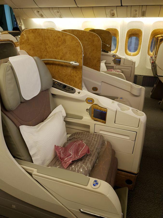 Flight Report Emirates Airbus A380 Vs Emirates Boeing 777 Business Class Business Class Emirates Airbus Emirates Airline