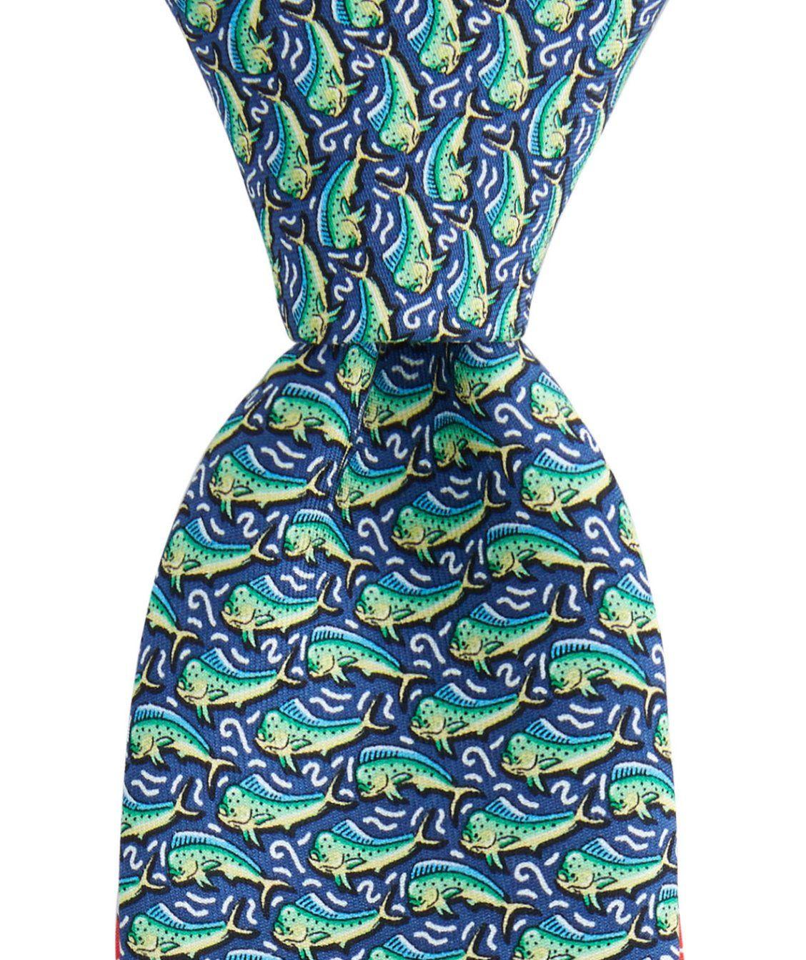 ee7c444335d6 Boys Mahi Printed Tie | tie one on | Boys ties, Tie, Vineyard vines
