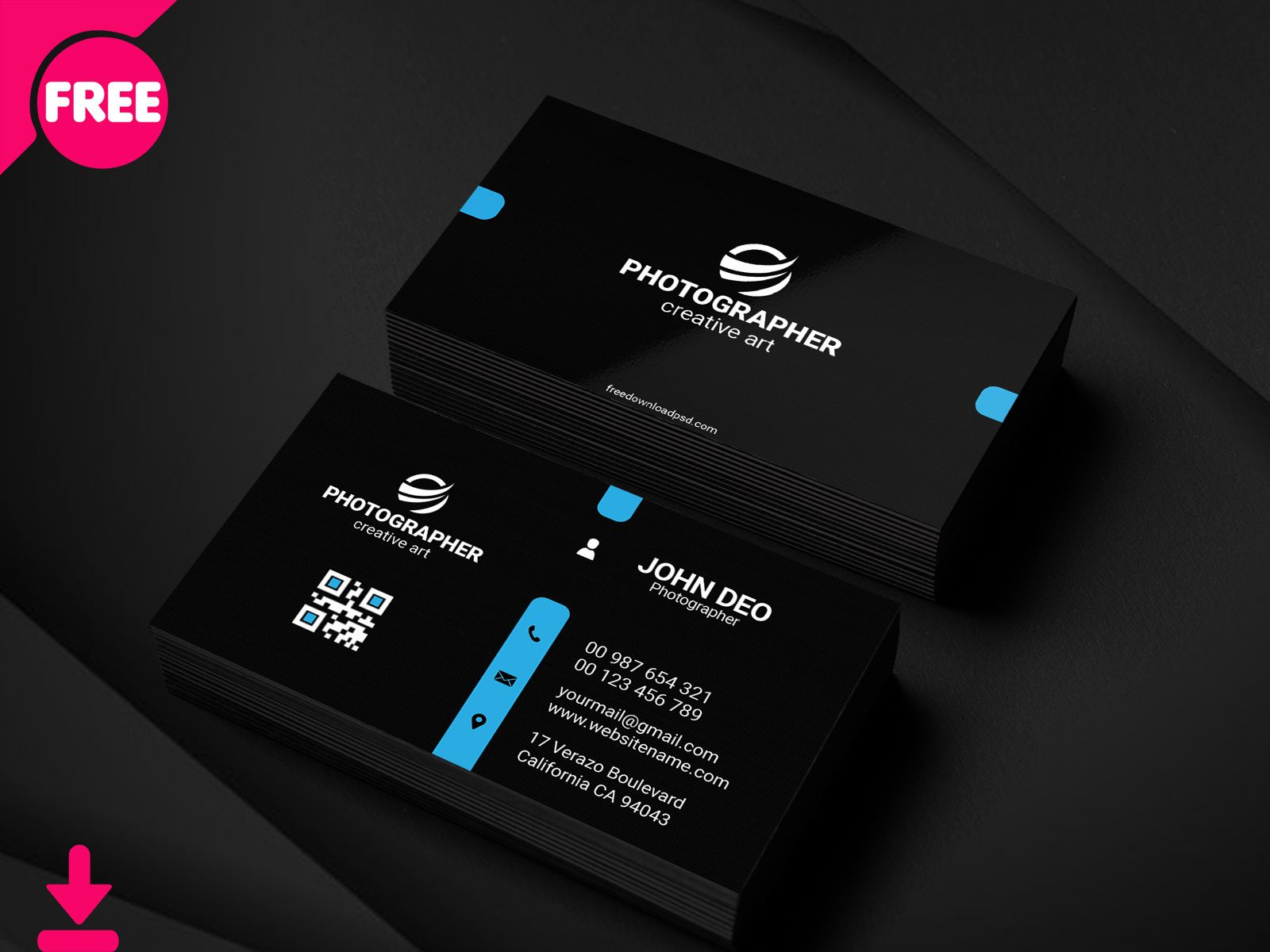Dribbble Free Personal Business Card Psd Template Cover Regarding Free Personal Business Card Templa Business Card Psd Personal Business Cards Personal Cards