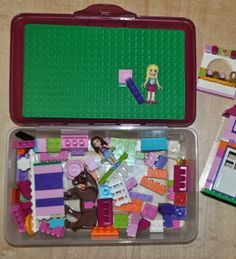 Diy Travel Lego Case Perfect Travel Day Activity Air