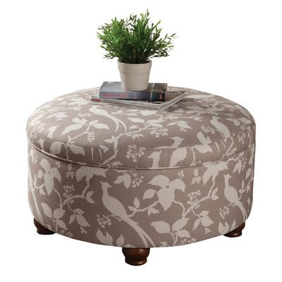 Darby Home Co Bird Storage Ottoman Reviews Wayfair Storage