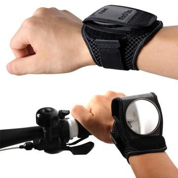 360° Adjustable Cycling mirror Cyclists Bicycle Bike Rear View Mirror Wrist Band