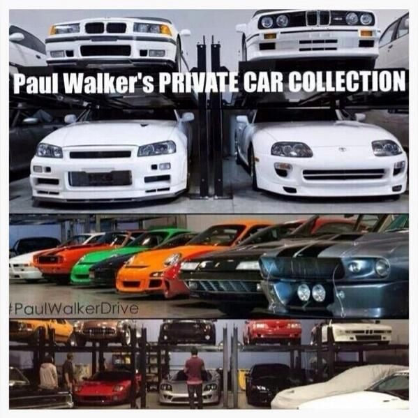 Paul S Private Car Collection He Loved Cars I Want Them All