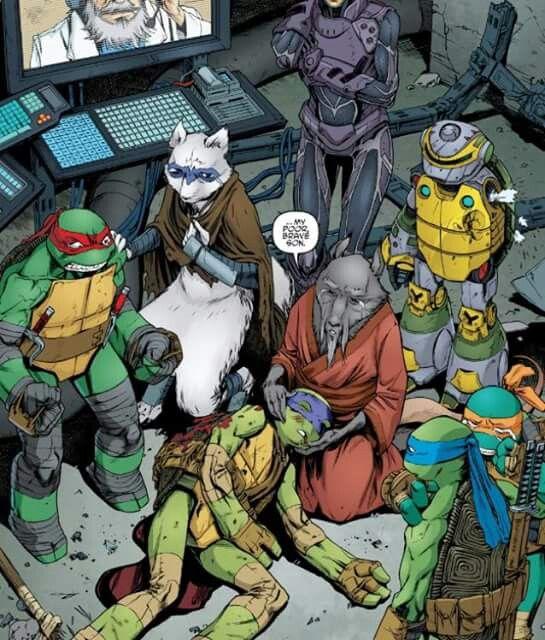 Donnie is injured   Turtles   Ninja turtles, Teenage mutant