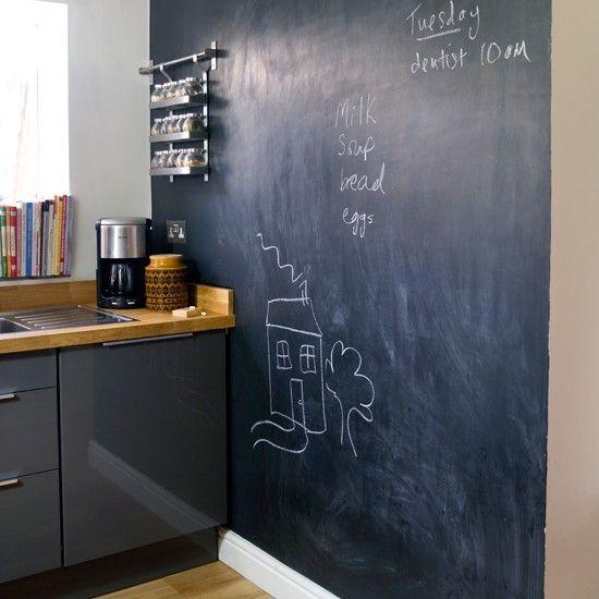 Mad About Blackboard Paint  Blackboards Kitchens And Creative Beauteous Kitchen Blackboard Inspiration Design