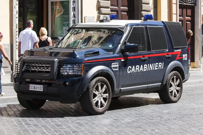 Armored Car Italian Police Carabinieri An Armored Car Of The Police Stop On A Ad Carabinieri Armored Police P Italian Police Armored Vehicles Car