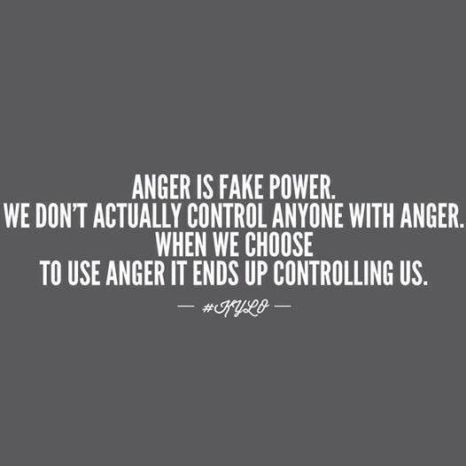Image result for don't angry about feeling anger quote