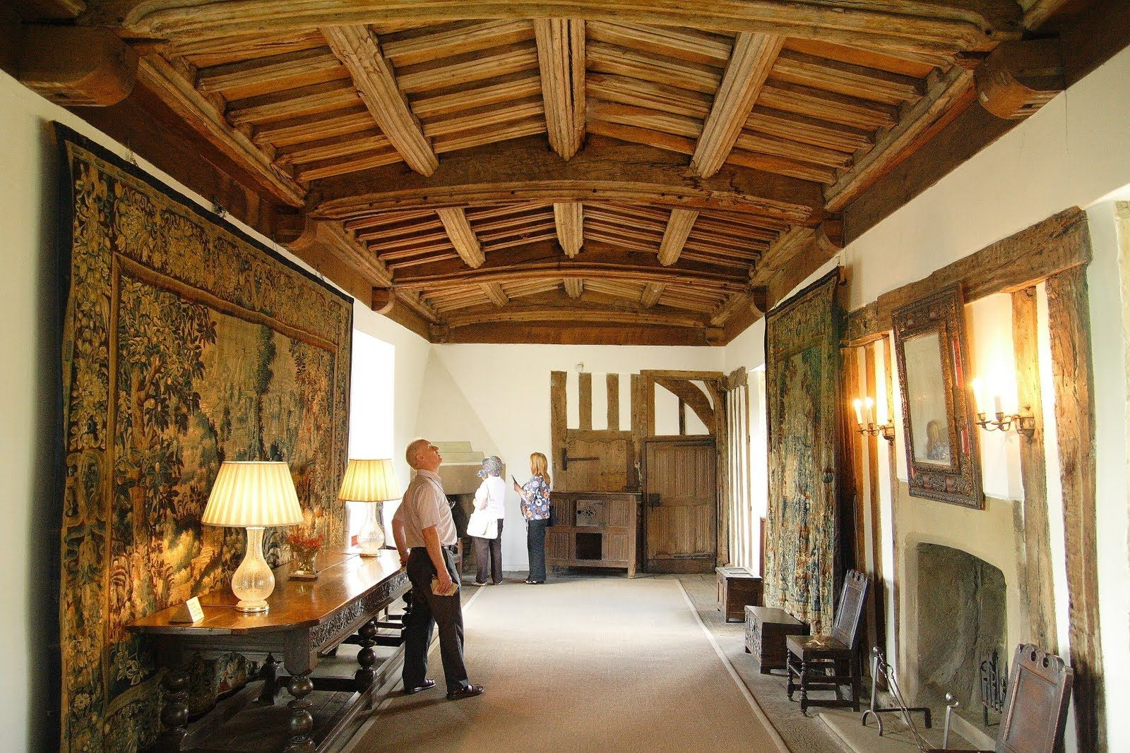 Photo Explorer British Architecture Country House Interior Haddon Hall