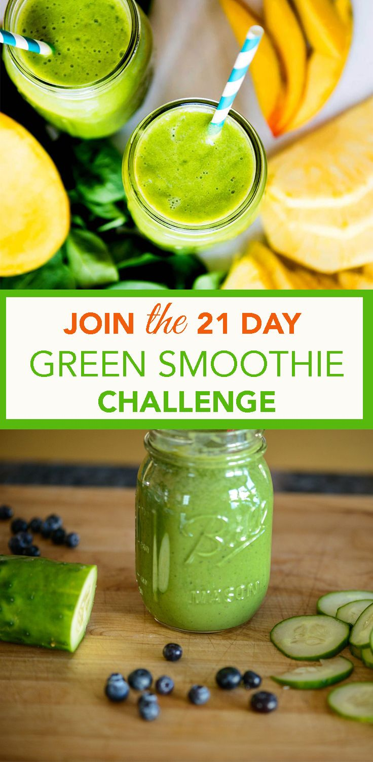 Join The 21 Day Green Up Smoothie Challenge Smoothie Recipes Sent To You Daily Blend Like A Boss An Green Smoothie Challenge Smoothie Challenge Smoothie Diet