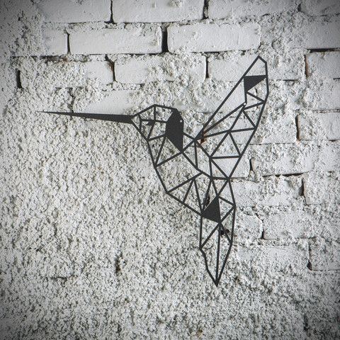 Metal plaka bird ev dekorasyonu dekorasyon fikirleri for Decoration murale metallique