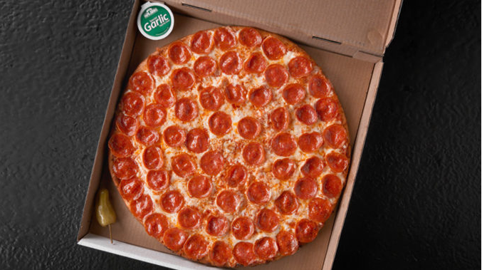 Papa John S Introduces New Shaq A Roni Pizza In Collaboration With Shaquille O Neal Papa Johns Papa John S Large Pizza