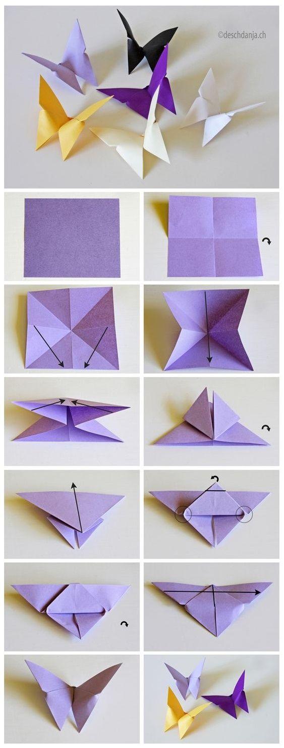 Decoraciones Con Papel Que Tu Habitacin Muere Por Tener Origami