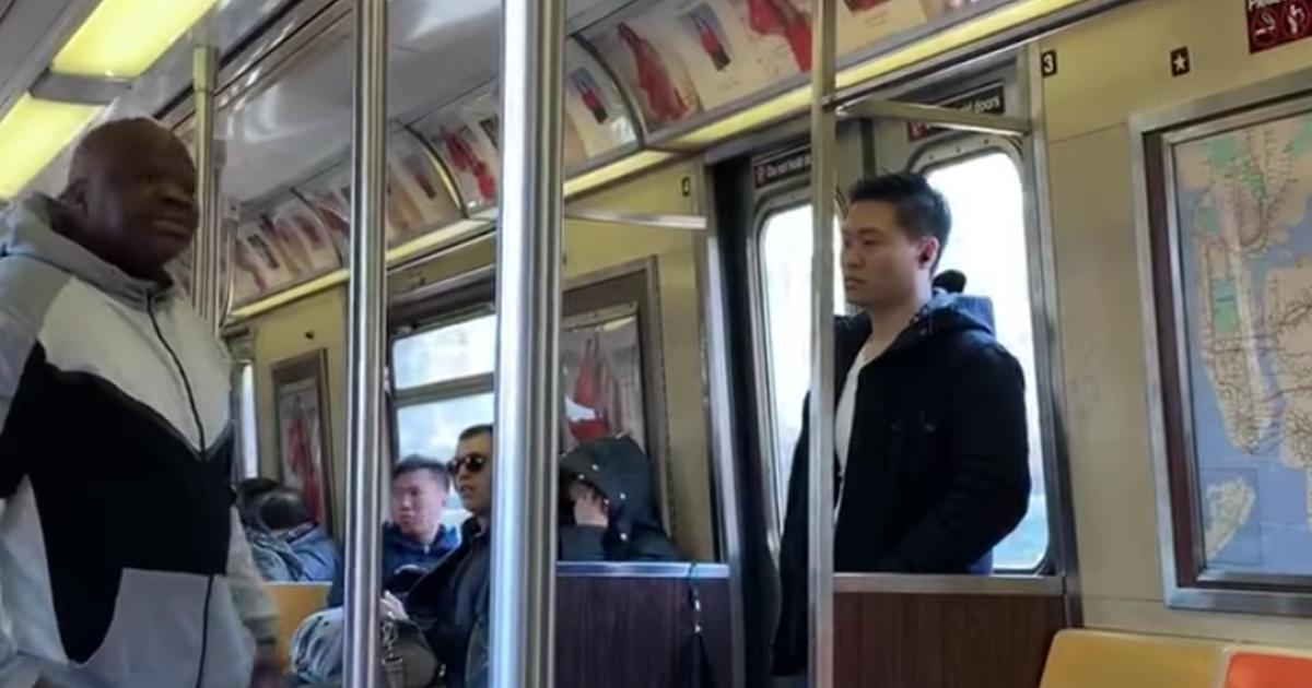 NYC subway rider sprays Febreze on man inside train in